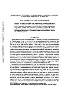 Quasinormal extensions of subnormal operator-weighted composition ...