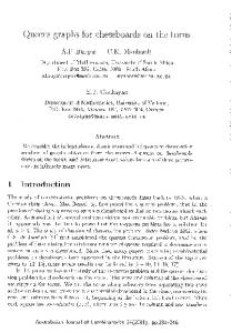 Queens graphs for chessboards on the torus - The Australasian ...