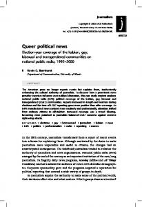 Queer political news