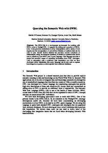 Querying the Semantic Web with SWRL