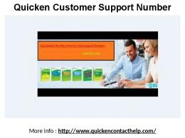 Quicken Technical Service Phone Number