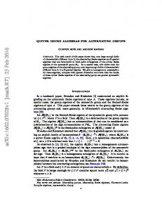 Quiver Hecke algebras for alternating groups - arXiv