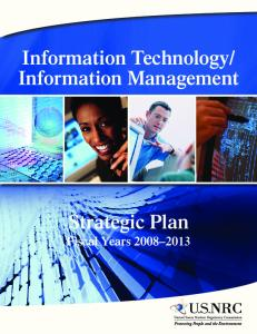 """Information Technology/Information Management Strategic Plan ..."