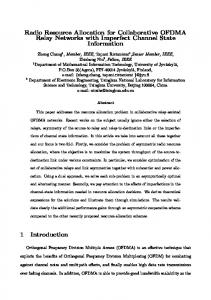 Radio Resource Allocation for Collaborative ... - Semantic Scholar