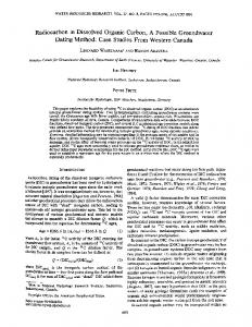 Radiocarbon in Dissolved Organic Carbon, A ... - Wiley Online Library