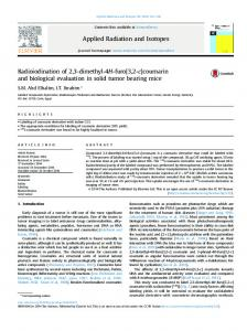 Radioiodination of 2,3-dimethyl-4H-furo[3,2-c ...
