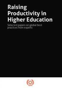 Raising Productivity in Higher Education - Asian Productivity ...
