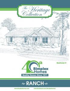 Ranch - Simplex Homes