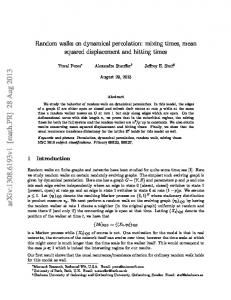 Random walks on dynamical percolation: mixing times, mean squared ...