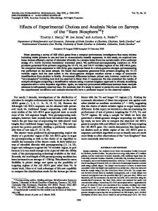 Rare Biosphere - Applied and Environmental Microbiology - American ...
