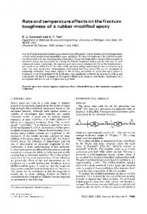 Rate and temperature effects on the fracture toughness of ... - CiteSeerX