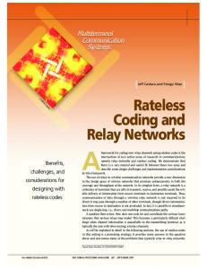 Rateless Coding and Relay Networks - IEEE Xplore