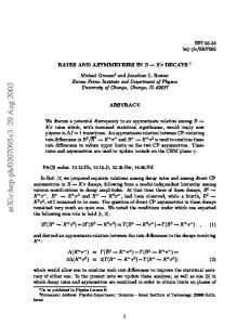 Rates and Asymmetries in $ B\to K\pi $ Decays