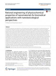 Rational engineering of physicochemical