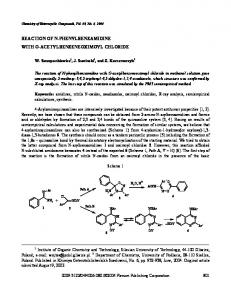 Reaction of N-Phenylbenzamidine with O ... - Springer Link