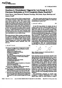 Reactions in Nitroimidazole Triggered by ... - Wiley Online Library