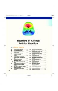 Reactions of Alkenes: Addition Reactions - McGraw-Hill Higher ...