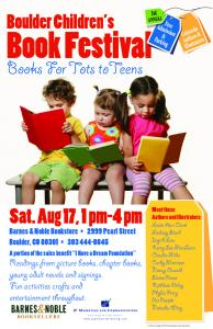 Readings from picture books, chapter books, young adult novels ...