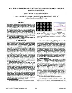 real-time dynamic mr image reconstruction using ... - IEEE Xplore