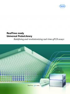 RealTime ready Universal ProbeLibrary Redefining and ...