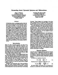 Reasoning about Dynamic Systems and Bifurcations - Semantic Scholar