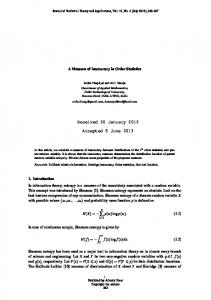 Received 20 January 2012 Accepted 5 June 2013 - Atlantis Press