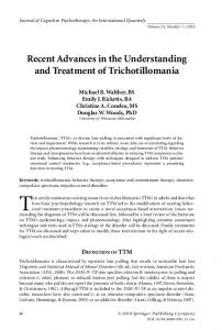 Recent Advances in the Understanding and ...