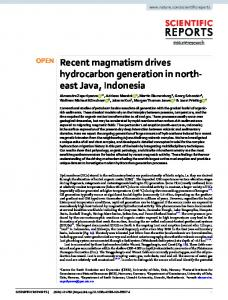 Recent magmatism drives hydrocarbon generation in ... - Naturewww.researchgate.net › publication › fulltext › Recent-ma