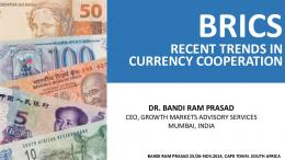 recent trends in currency cooperation