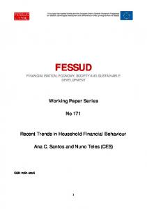 Recent Trends in Household Financial Behaviour.pdf - FESSUD