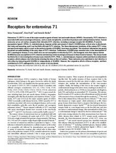 Receptors for enterovirus 71 - Nature