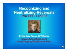 Recognizing Recognizing and Recognizing Recognizing and ... - EFT