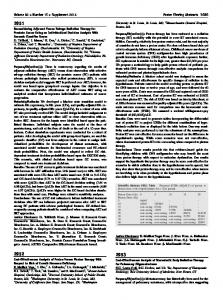 Reconsidering Adjuvant Versus Salvage Radiation Therapy for ...
