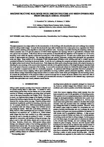 reconstructing buildings with discontinuities and