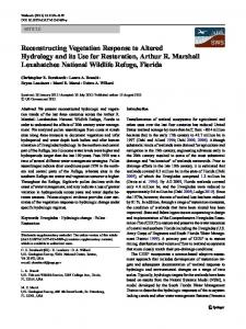 Reconstructing Vegetation Response to Altered ... - Springer Link