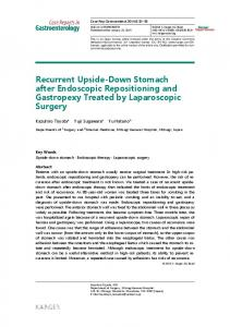 Recurrent Upside-Down Stomach after Endoscopic ... - ScienceOpen