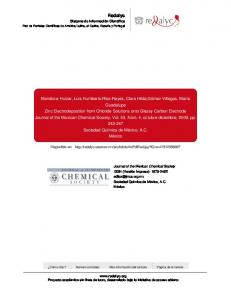 Redalyc.Zinc Electrodeposition from Chloride