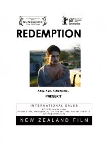 Redemption Press Kit - New Zealand Film Commission