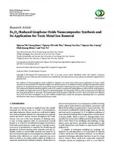 Reduced Graphene Oxide Nanocomposite