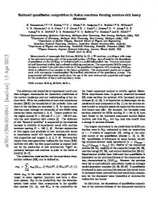 Reduced quasifission competition in fusion reactions forming neutron ...