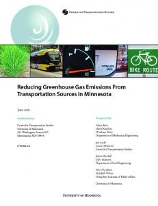 Reducing Greenhouse Gas Emissions From ... - CiteSeerX