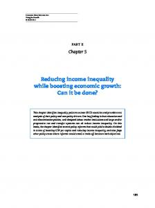 Reducing income inequality while boosting economic ... - OECD.org
