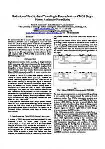 Reduction of Band-to-band Tunneling in Deep-submicron CMOS ...