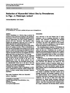 Reduction of Myocardial Infarct Size by Dronedarone ... - Springer Link