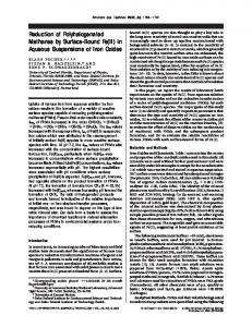 Reduction of Polyhalogenated Methanes by ... - ACS Publications