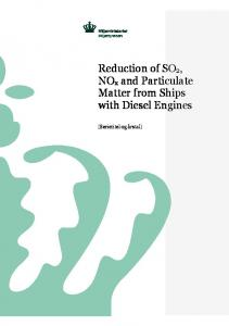 Reduction of SO2, NOx and Particulate Matter from Ships with ...