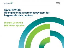 Reengineering a server ecosystem for large-scale data centers