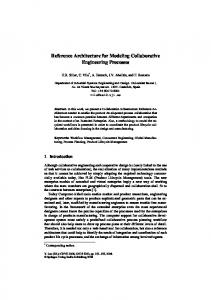 Reference Architecture for Modeling Collaborative ...