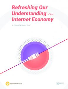 Refreshing Our Understanding of the Internet Economy