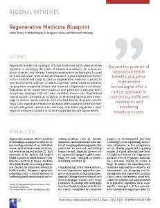 Regenerative Medicine Blueprint